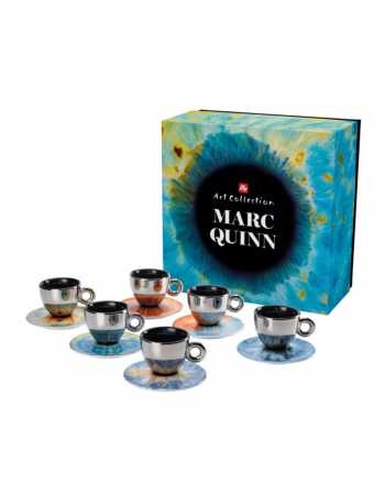 ILLY ART MARC QUINN 6 TAZZE CAFFE' CAPPUCCINO