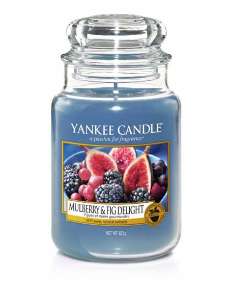CLASSIC LARGE JAR MULBERRY & FIG DELIGHT